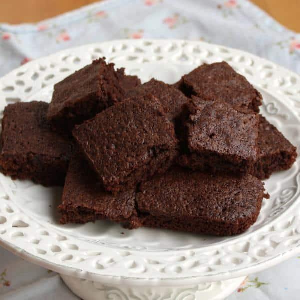 Bolo de chocolate diet com cacau