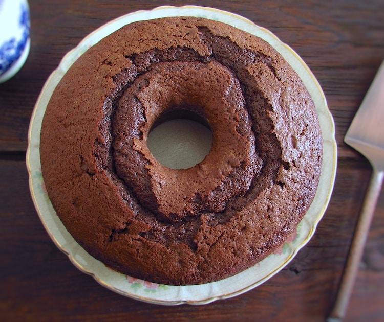 Receita de bolo de chocolate e iogurte