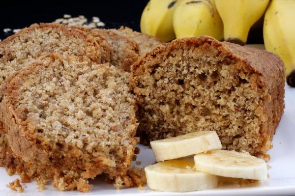 Receita de bolo de casca de banana