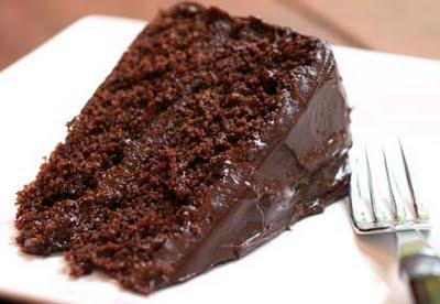 Receita de bolo de chocolate ao conhaque