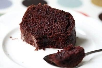 Receita de bolo de chocolate sem farinha de trigo