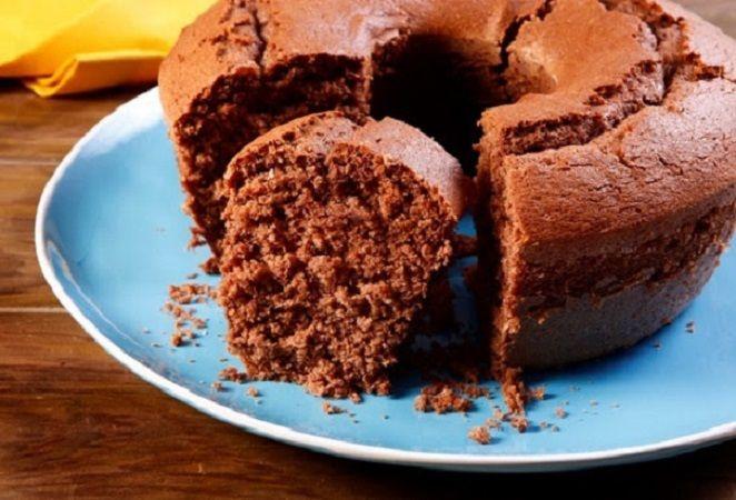 Receita de bolo fofinho de chocolate