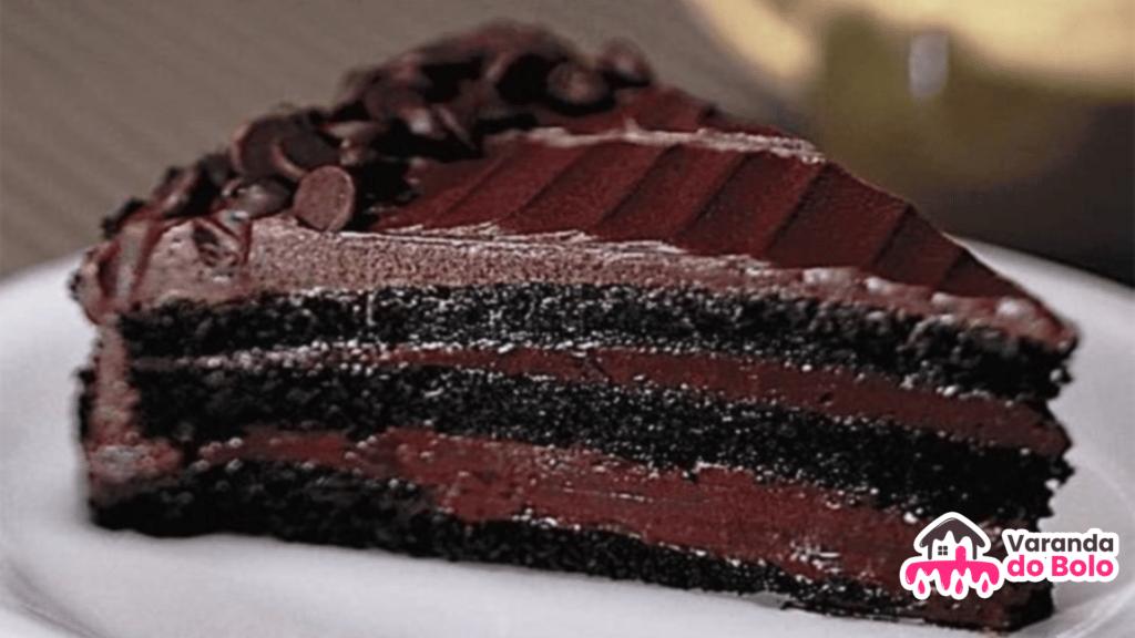 Receita de bolo de chocolate amargo