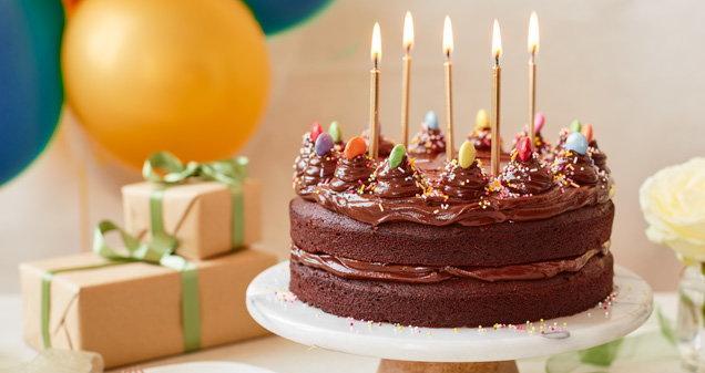 Receita de bolo de chocolate para aniversário