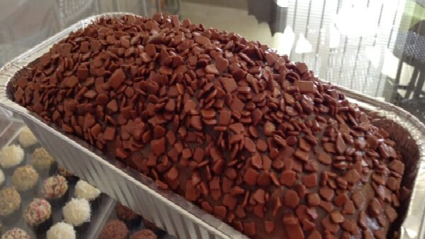 Receita de bolo de chocolate na marmita