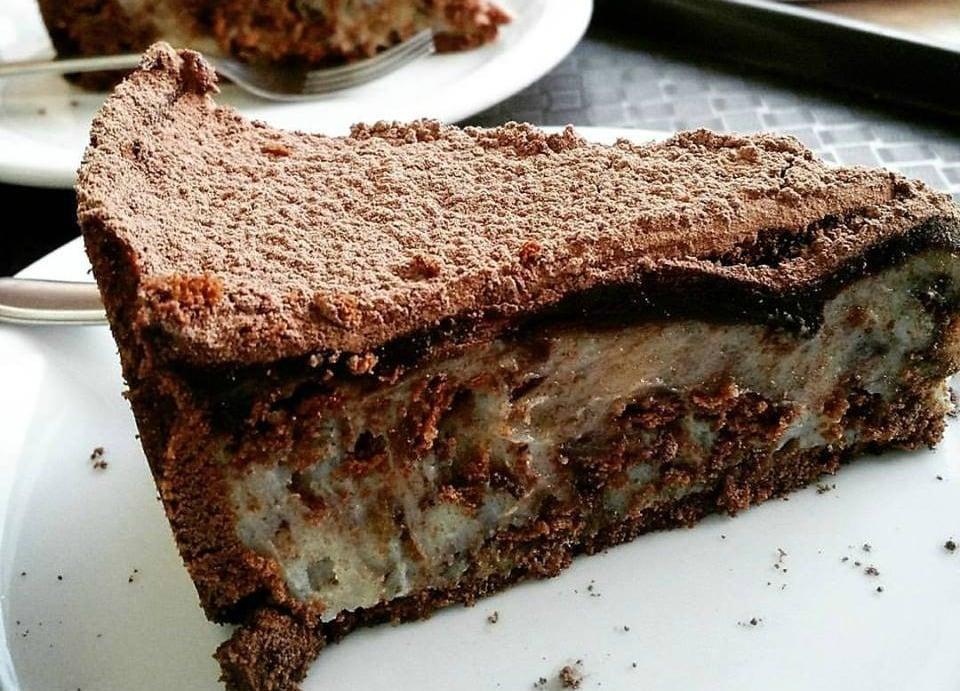 Receita de torta africana de chocolate