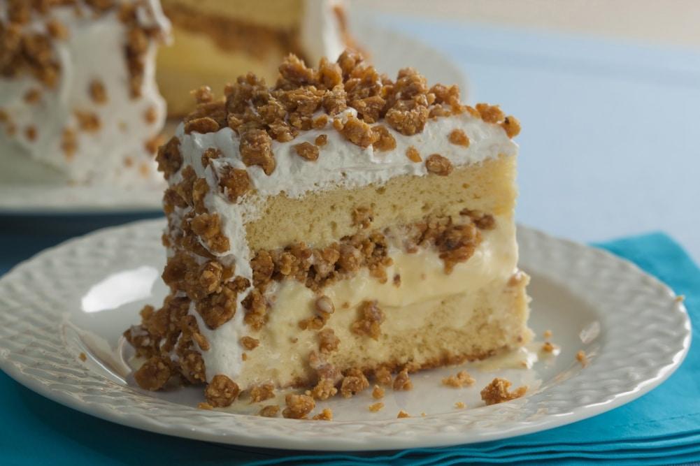 bolo gelado crocante