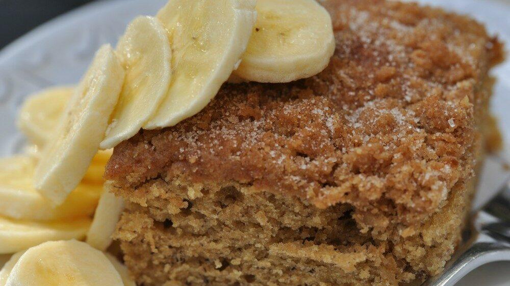 4 receitas de bolo de banana para melhorar o seu dia!