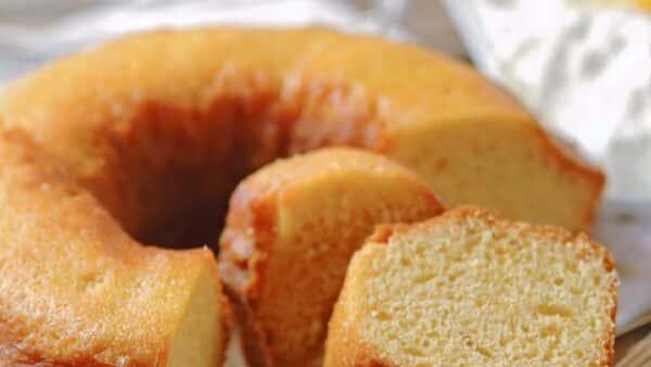 Receita de bolo de baunilha