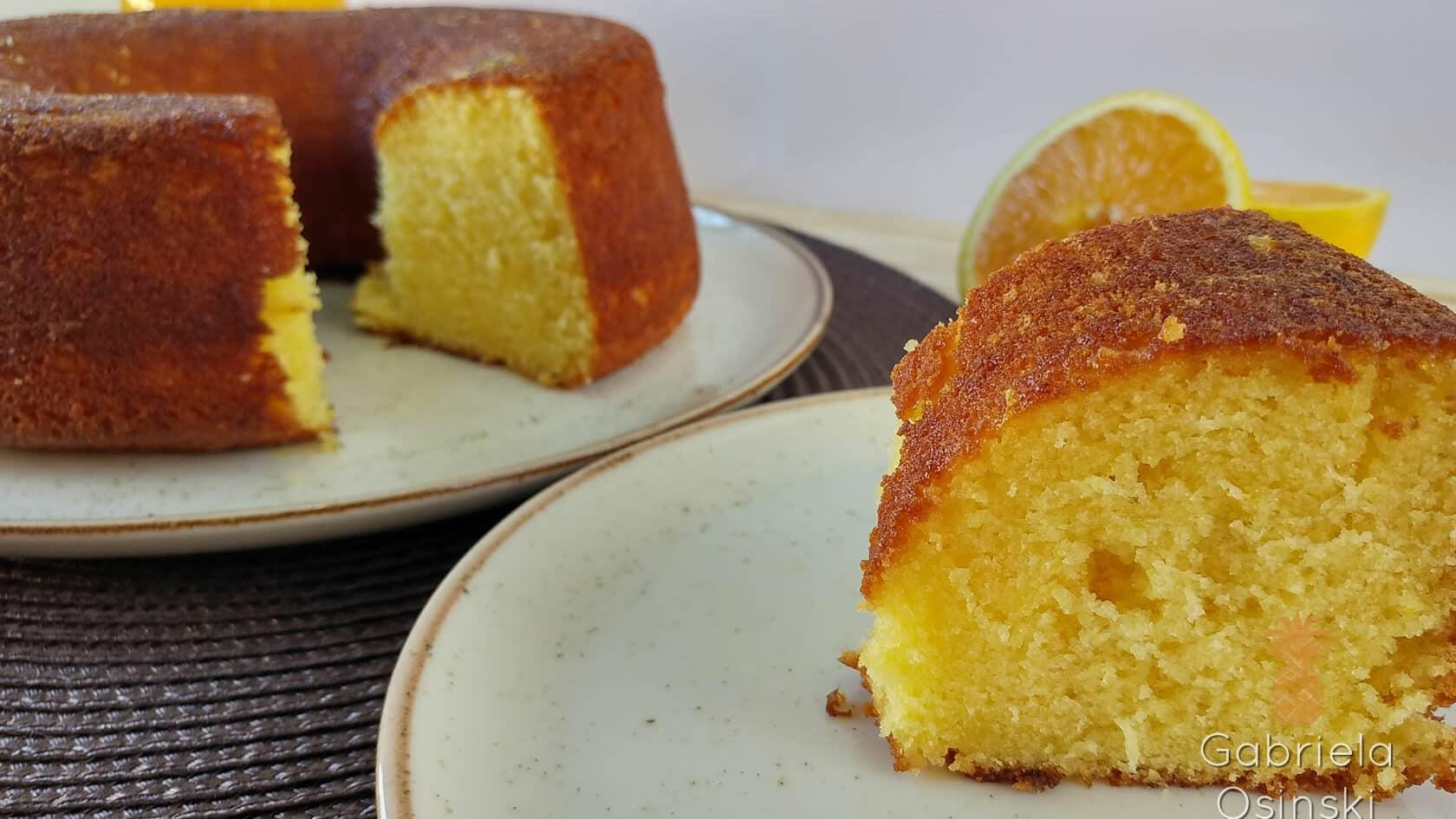 Receita de bolo de laranja iii