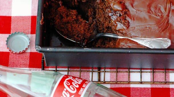 Receita de bolo de coca-cola