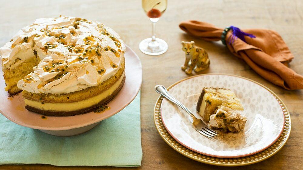 Receita de bolo de maracujá para aniversário