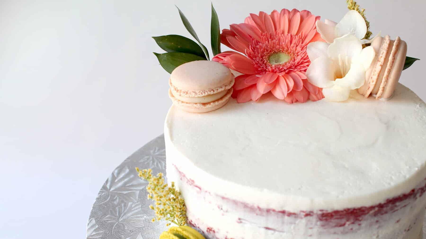 Receita de bolo naked cake para aniversário