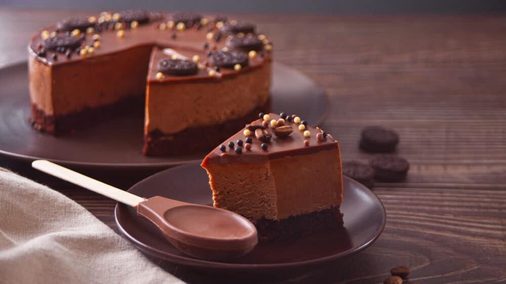 Receita de cheesecake de nutella