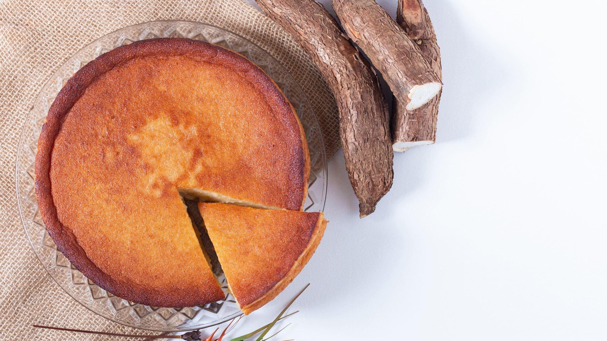Receita de bolo de aipim