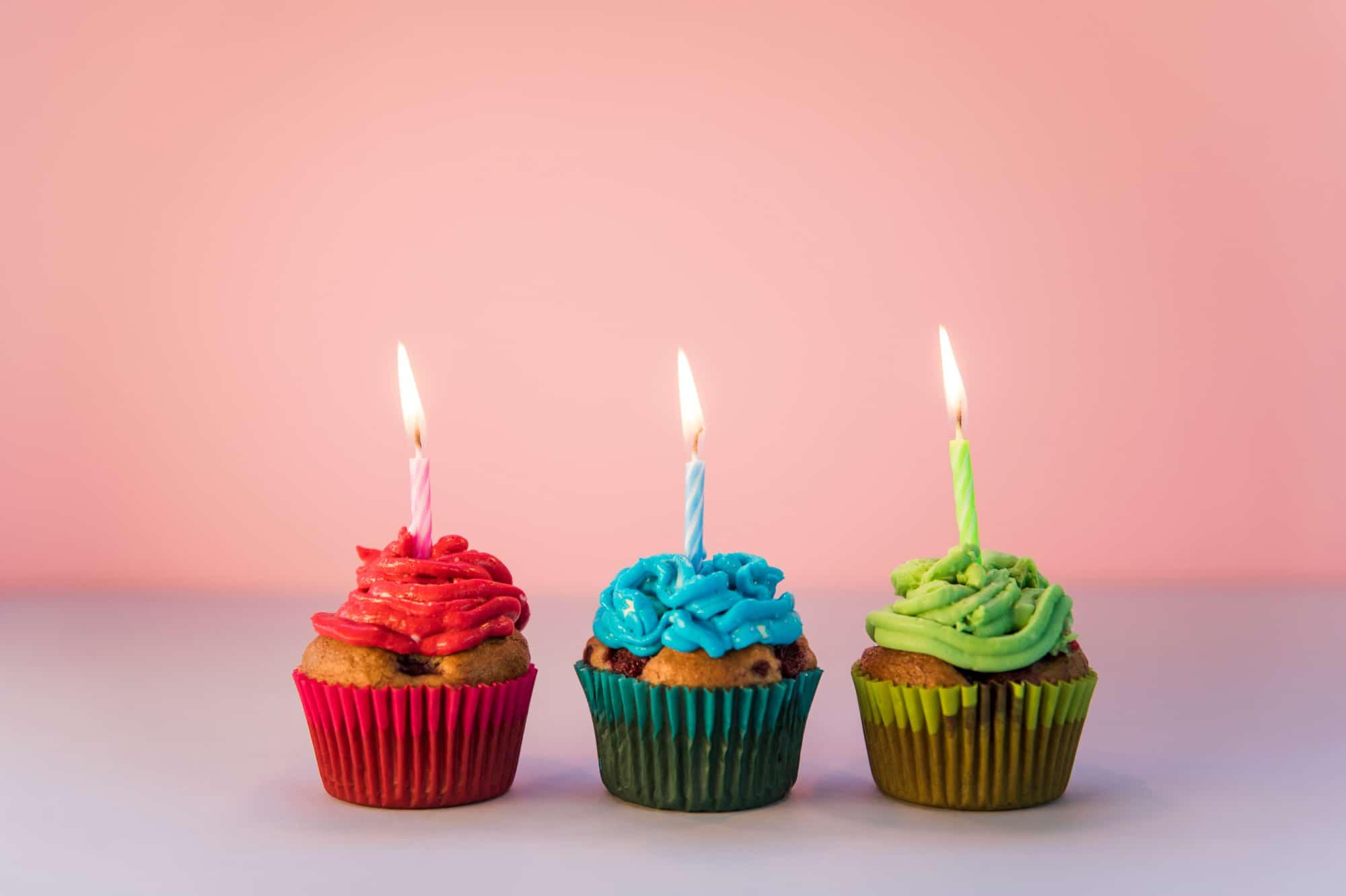Receita de cupcake para aniversário