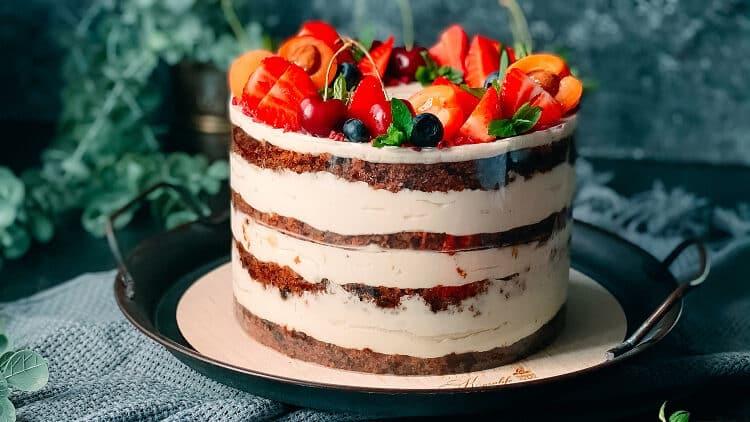 Receita de bolo de churros de aniversário