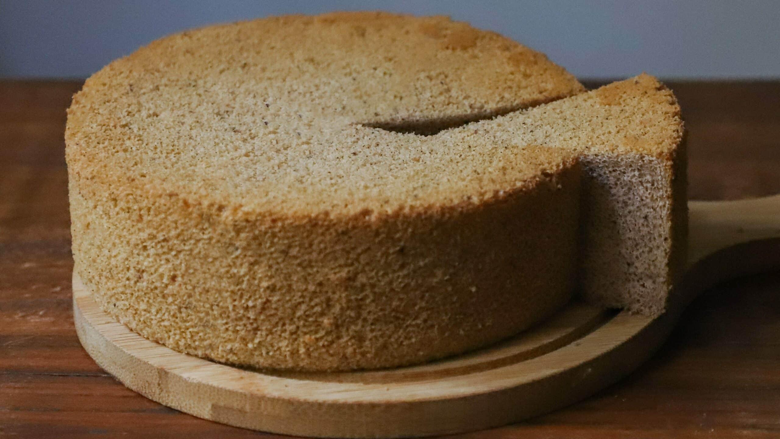 Receita de bolo caseiro