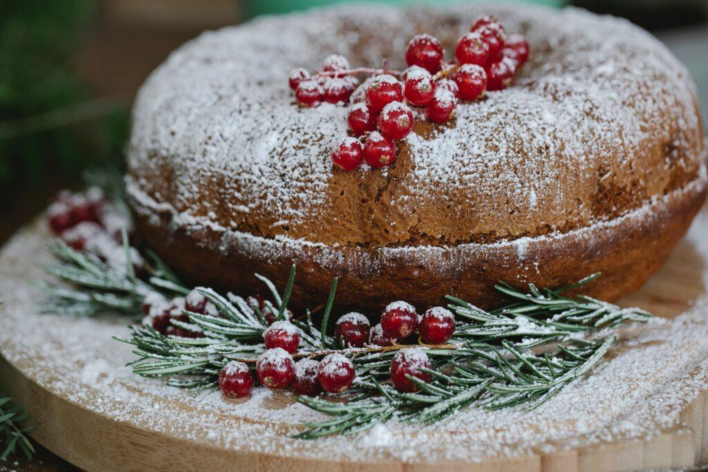 Receita de bolo natalino de frutas