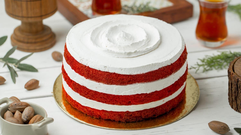 Receita de bolo red velvet de aniversário