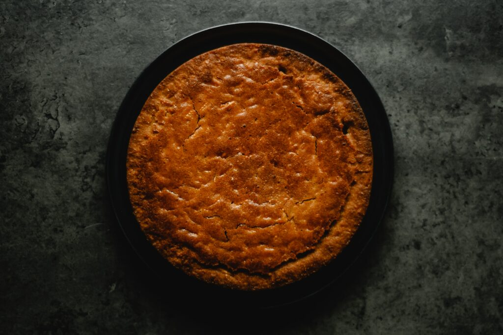 Receita de bolo de mandioca simples