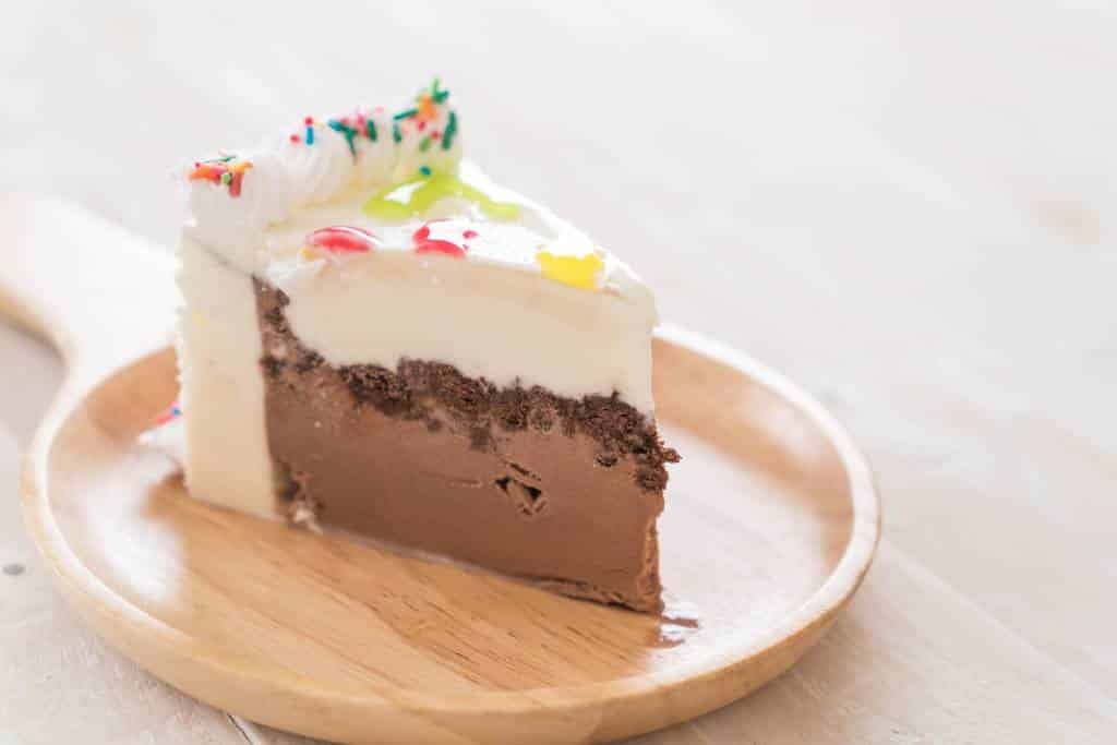 Receita de bolo de sorvete